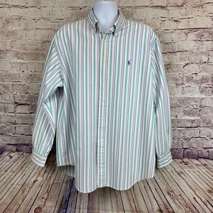 Ralph Lauren Blue Label Striped Button Front Shirt